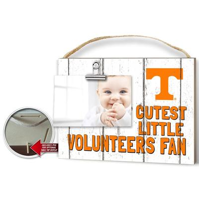 Tennessee Cutest Little Fan Weathered Logo Clip It