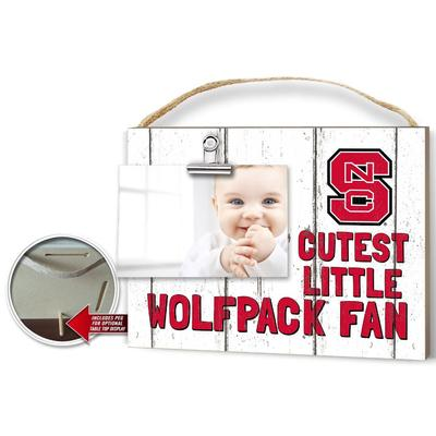 NCST Cutest Little Fan Weathered Logo Clip It