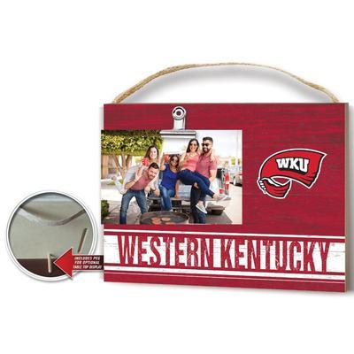 Western Kentucky Colored Logo Clip It