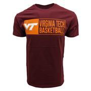 Virginia Tech Basketball Stack T- Shirt