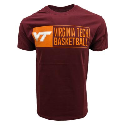 Virginia Tech Basketball Stack T-Shirt
