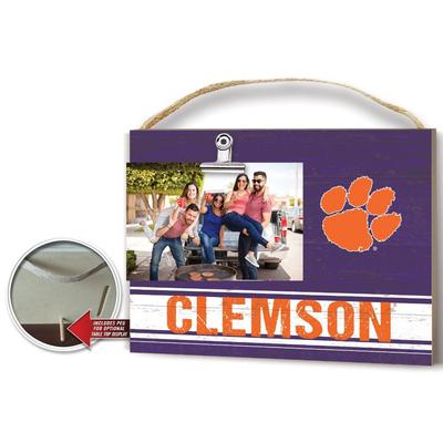 Clemson Colored Logo Clip It