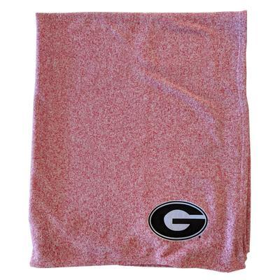 Georgia Jersey Sweatshirt Blanket