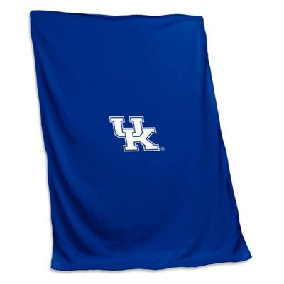 Kentucky Jersey Sweatshirt Blanket