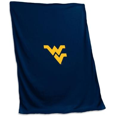 West Virginia Jersey Sweatshirt Blanket