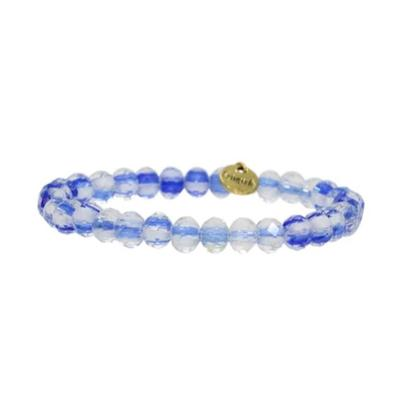 Erimish Blue and White Travis Stackable Bracelet