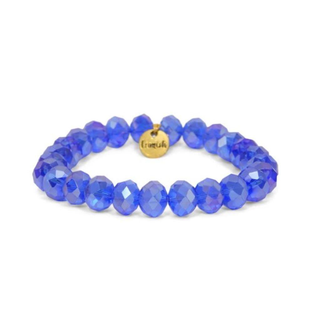 Erimish Blue Blazer Stackable Bracelet