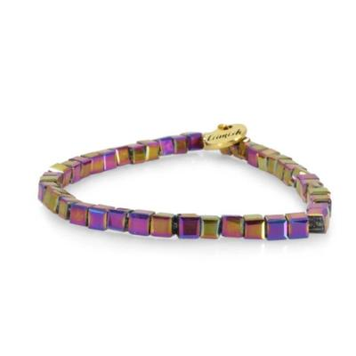 Erimish Purple Saul Stackable Bracelet