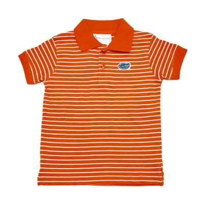 Florida Toddler Short Sleeve Striped Polo