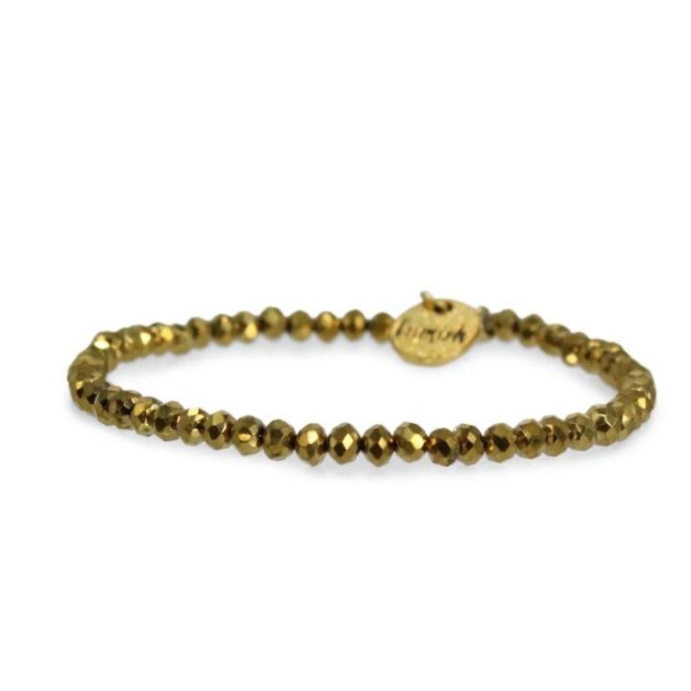Erimish Gold Nolan Stackable Bracelet