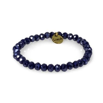 Erimish Navy Fountain Stackable Bracelet