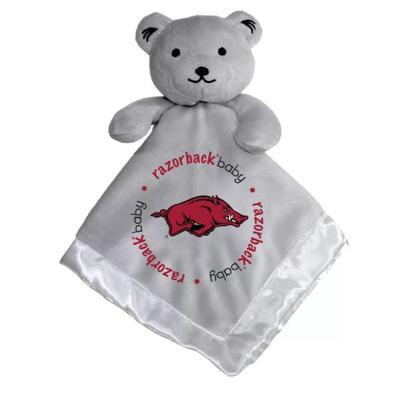 Arkansas Grey Security Bear Blanket