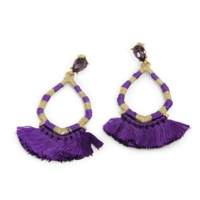 Erimish Brandon D Earrings