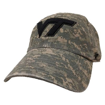 Virginia Tech '47 Brand Digi Camo Adjustable Hat