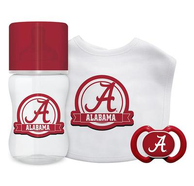 Alabama Bottle, Pacifier, Bib Gift Set