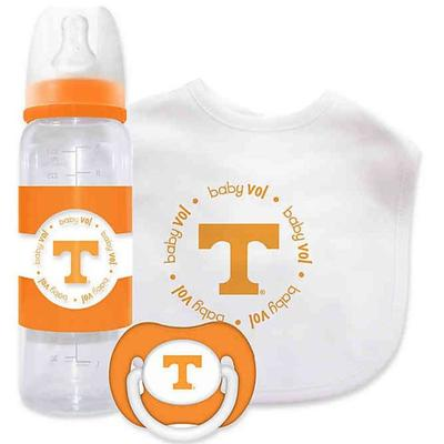 Tennessee Bottle, Pacifier, Bib Gift Set