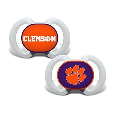 Clemson Pacifier 2-Pack