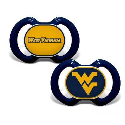 West Virginia Pacifier 2-Pack