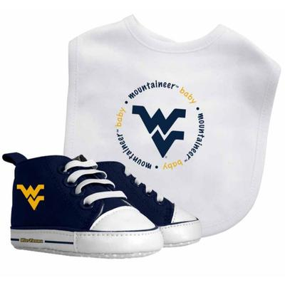 West Virginia Bib and Prewalkers Set