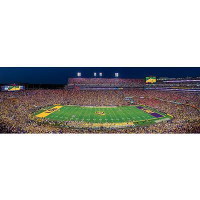 LSU Stadium Panoramic Stadium Puzzle