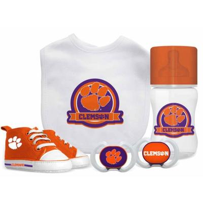 Clemson Infant 5-Piece Gift Set