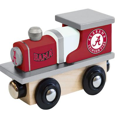 Alabama Wood Toy Train Engine