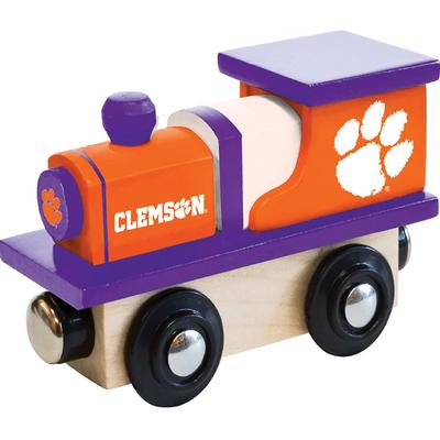 Clemson Wood Toy Train Engine