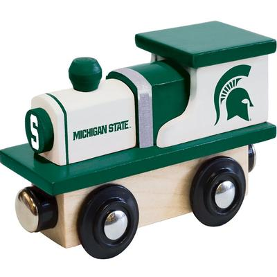 Michigan State Wood Toy Train Engine