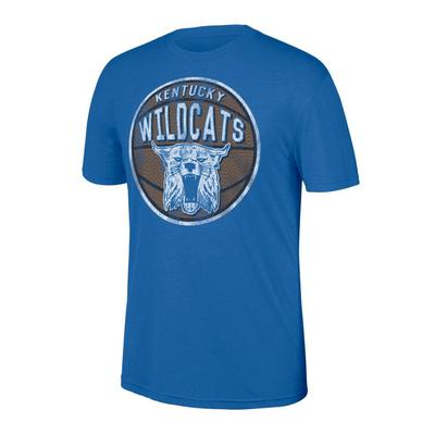 Kentucky Retro Basketball Tri-Blend Tee