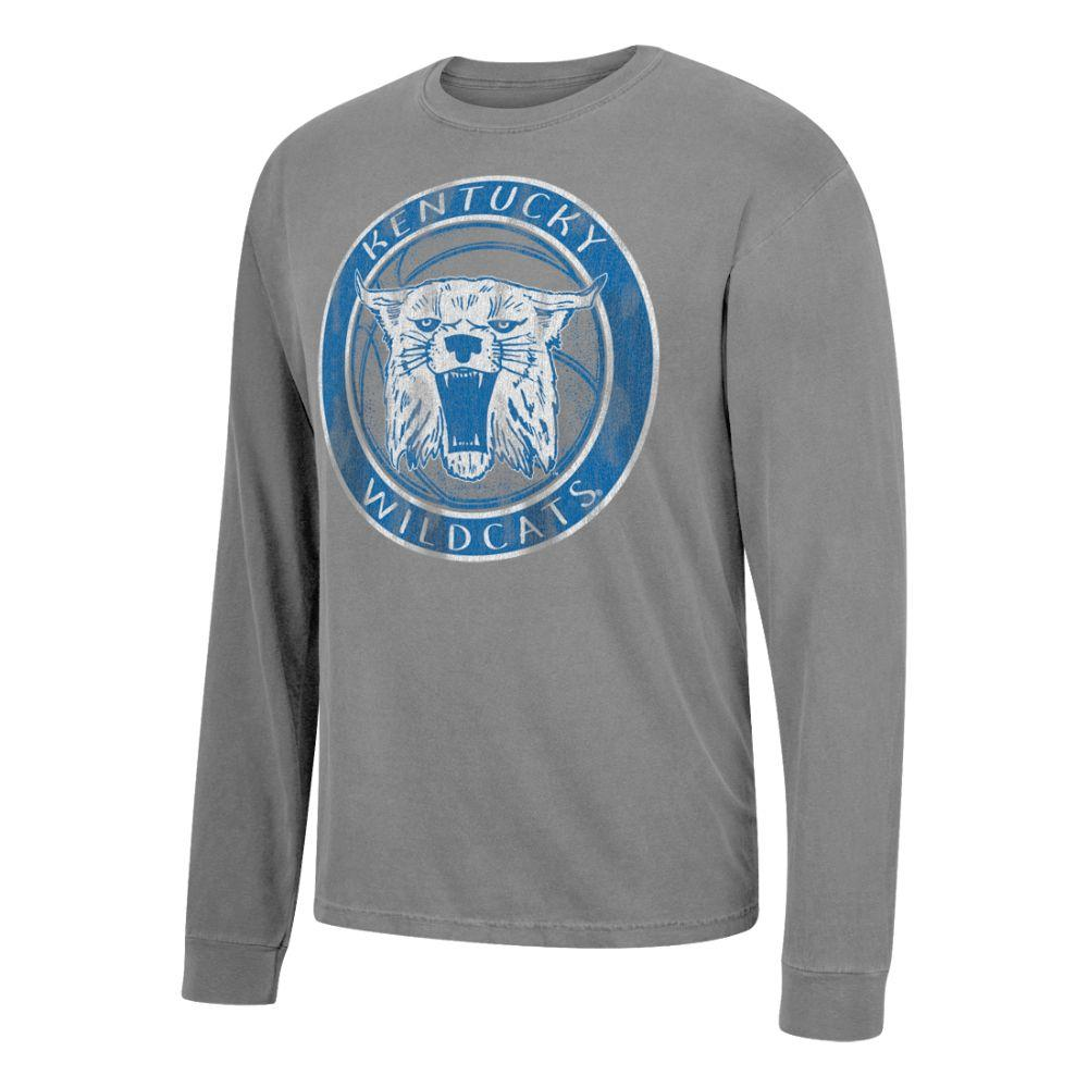 Kentucky Basketball Cat L/S Tee