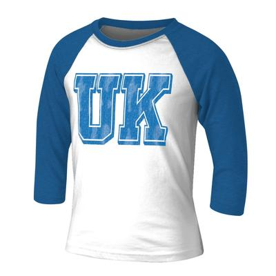Kentucky Vault Youth Block 3/4 Sleeve Raglan