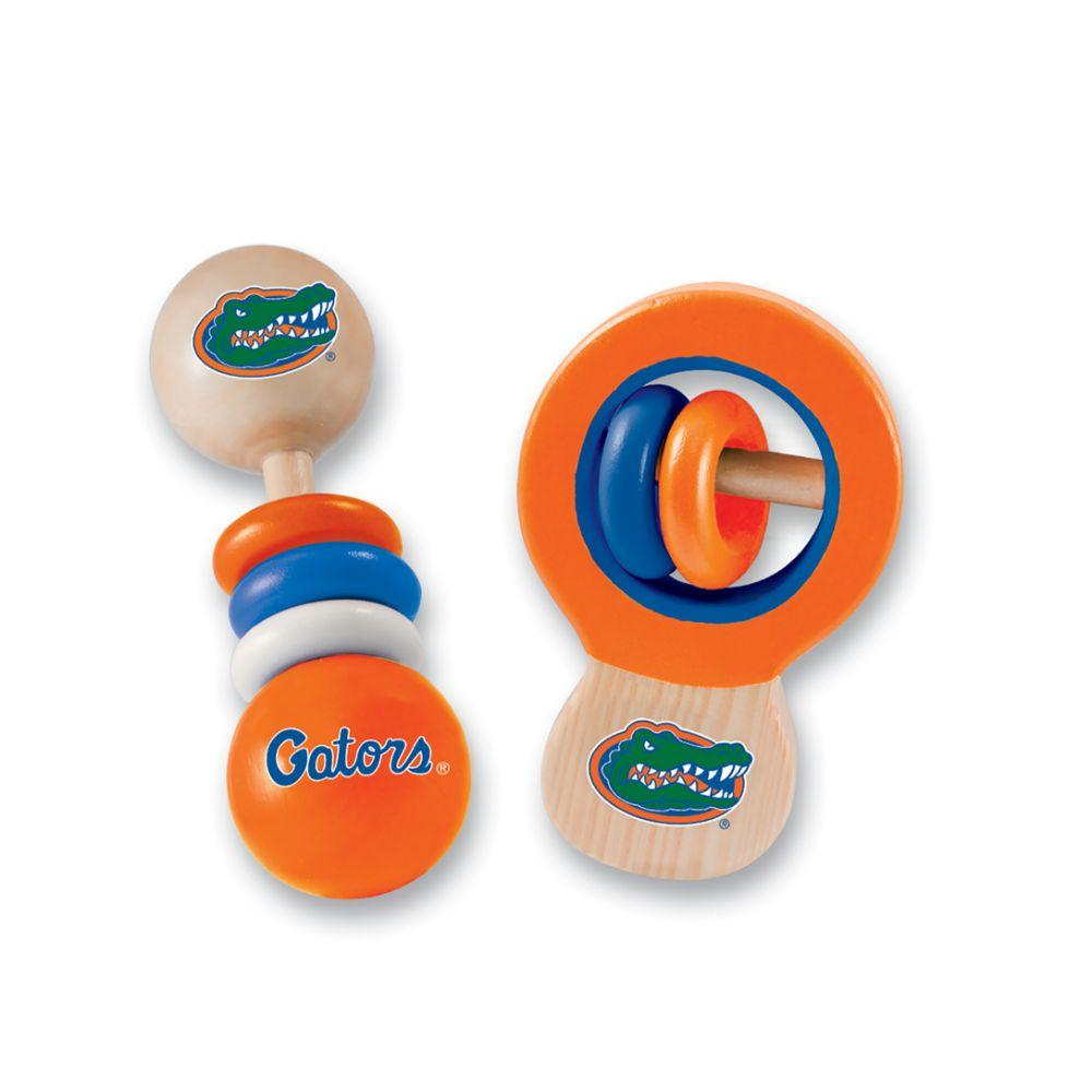 Florida Wood Baby Rattle