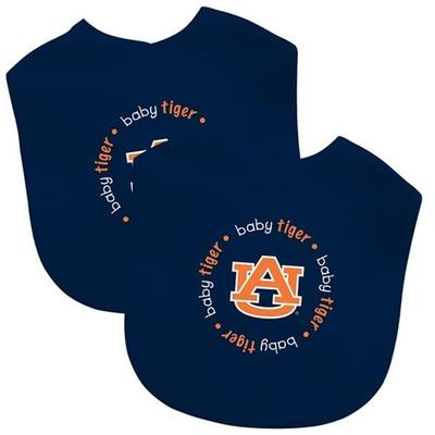 Auburn Baby Tiger Bib Set 2 pack