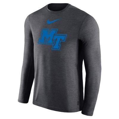MTSU Nike Long Sleeve Coaches Tee