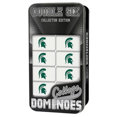 Michigan State Dominoes Set