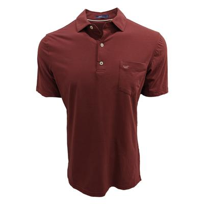 Virginia Tech Johnnie-O Harvey Pocket Polo