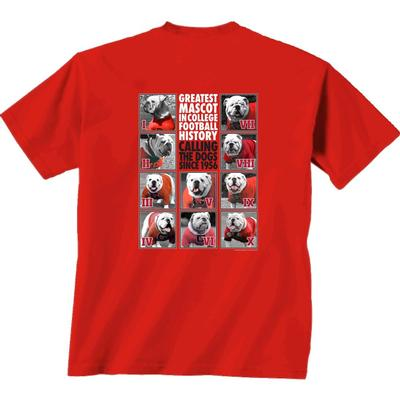 Georgia Men's One to Ten Dogs Tee