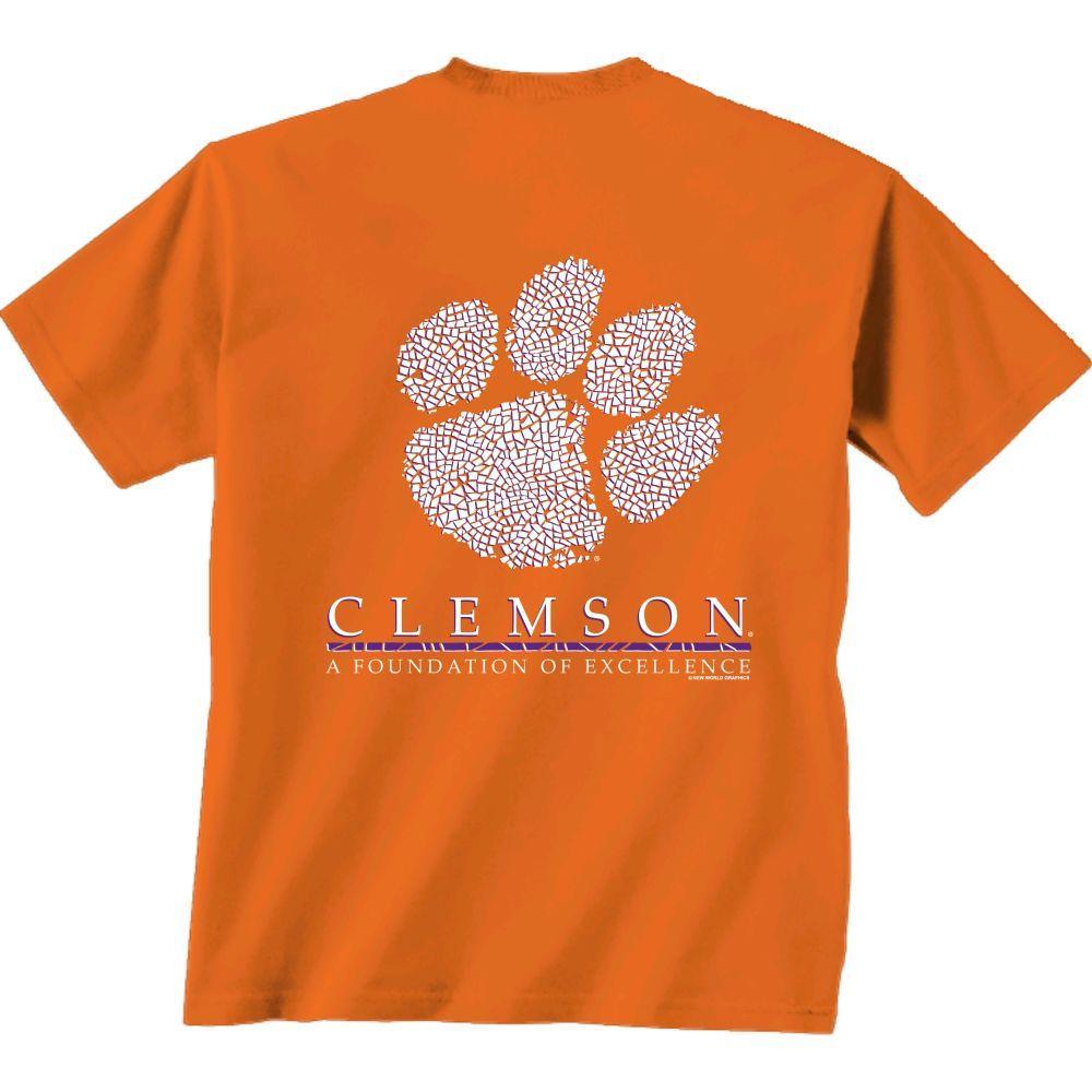 Clemson Men's Team Mosaic Tee