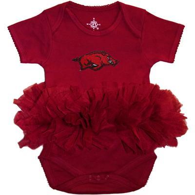 Arkansas Infant Tutu Onesie