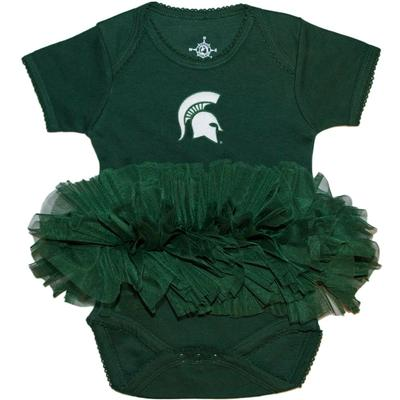 Michigan State Infant Tutu Onesie