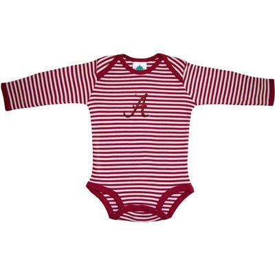 Alabama Infant Stripe L/S Bodysuit