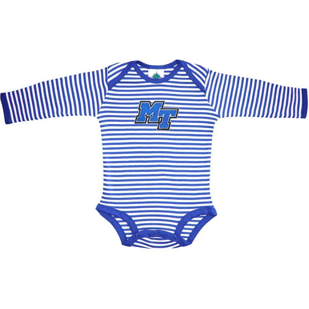Mtsu Infant Stripe L/S Bodysuit