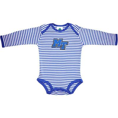 MTSU Infant Stripe L/S Bodysuit