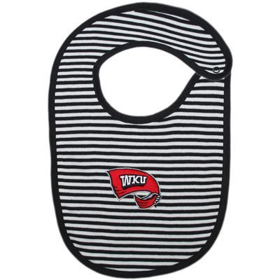 Western Kentucky Creative Knitwear Infant Bib