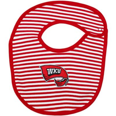 Western Kentucky Creative Knitwear Infant Bib