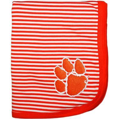 Clemson Creative Knitwear Baby Blanket