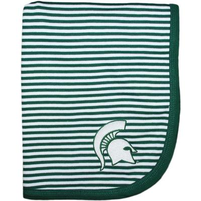 Michigan State Creative Knitwear Baby Blanket