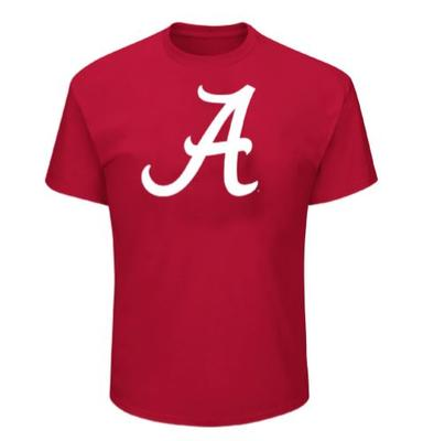 Alabama Big & Tall Giant Logo T-Shirt