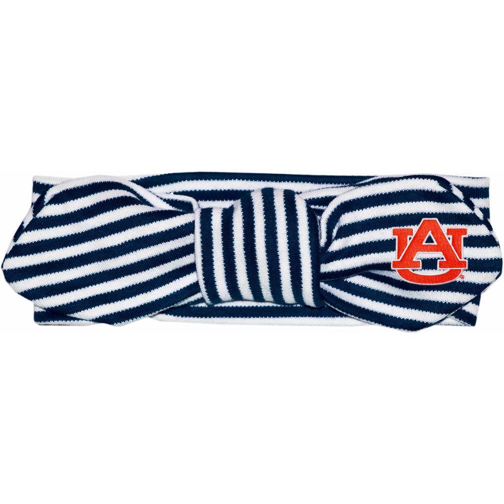 Auburn Infant Striped Knot Hair Band