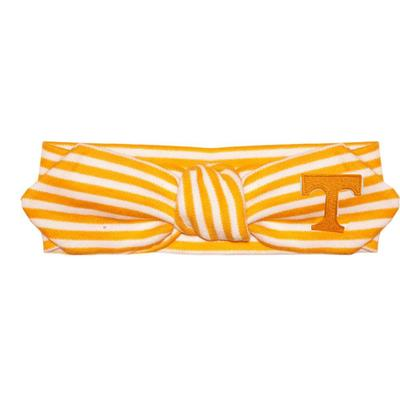 Tennessee Infant Striped Knot Hair Band